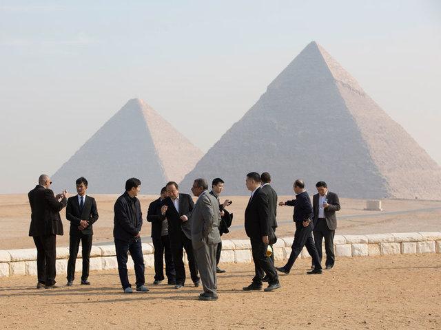 The Pyramids of Giza - Cairo