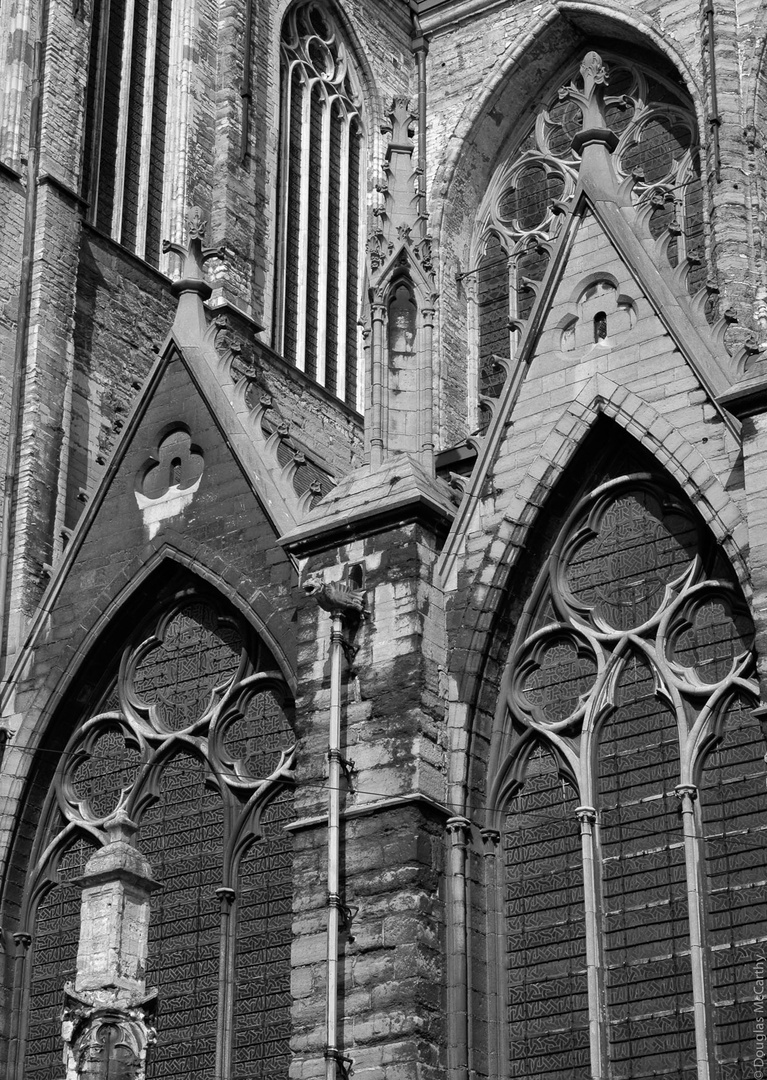 Gothic church, Gent