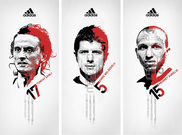 Adidas - 2008 Europe Football Championship Poster design