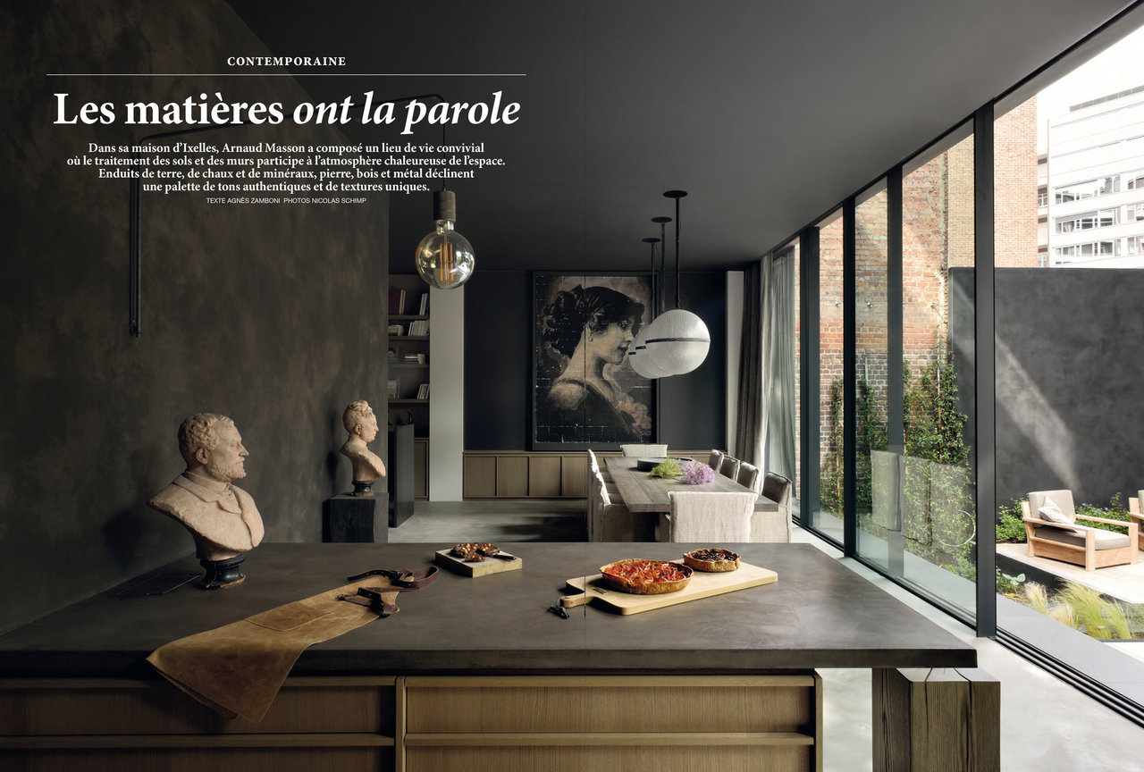 awesome decoration interieur bois et pierre images. Black Bedroom Furniture Sets. Home Design Ideas