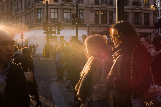 Regent Street, London, 2017