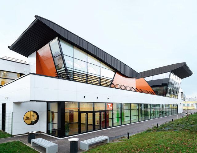 Surfaces vitrées du lycée Varoquaux - Tomblaine 2018