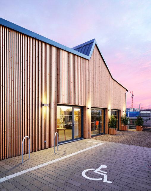 Restructuration d'un Point Coop en maison de projets pour la Zac des Deux Rives - Strasbourg 2018