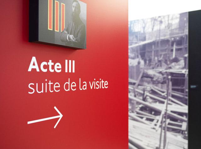 """Muséographie de l'exposition """"Opéra !"""", Galerie Poirel - Nancy 2018"""