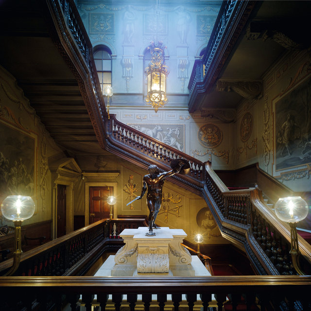 Houghton Hall Staircase - After