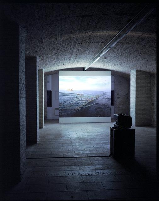 La tour pélagiqueFort du Bruissin, Fran  Projection, 50 images 6 x 7, projecteur Götschmann.