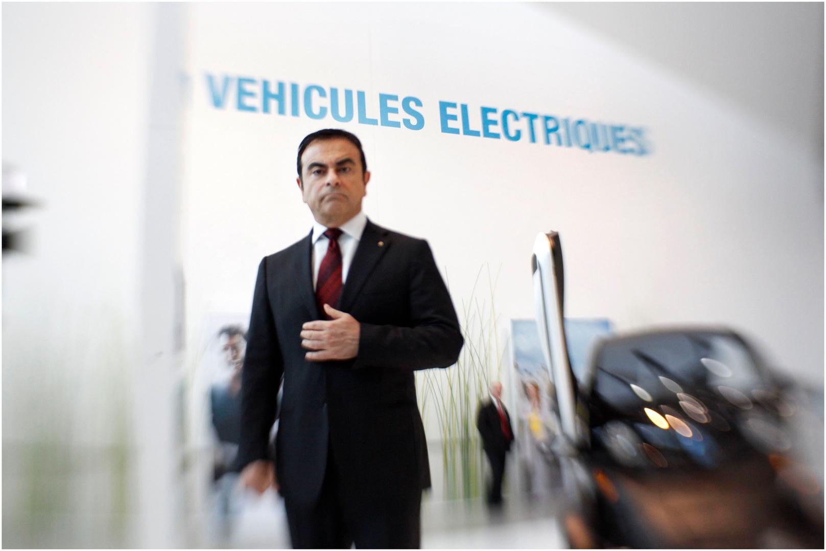 Carlos Ghosn, PDG de l'entreprise Renault