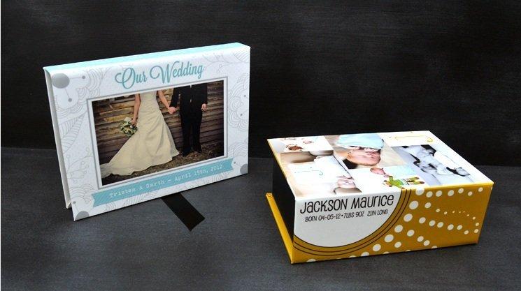Custom photo box