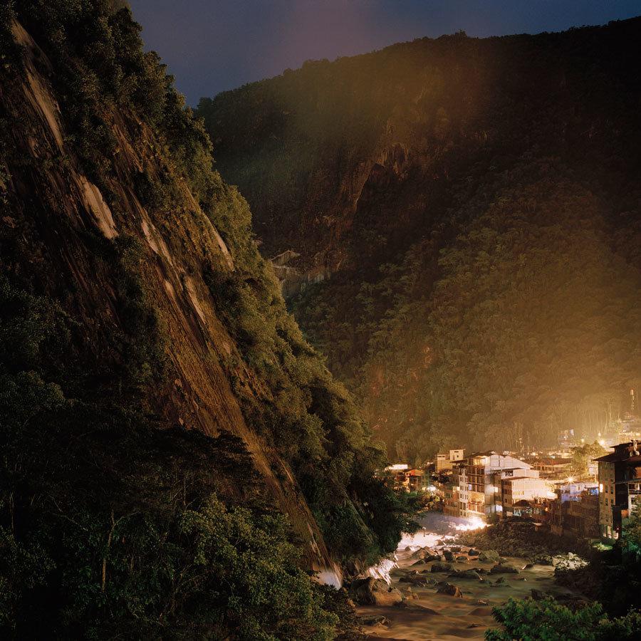 """13˚9'29.3""""S, 72˚31'24.6""""W - Aguas Calientes, Peru"""