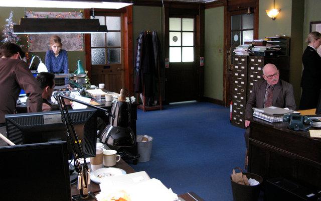 Dressed set - Police Station Interior