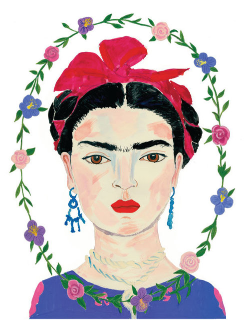 Friducha, Chosen, Latin American Illustration 5