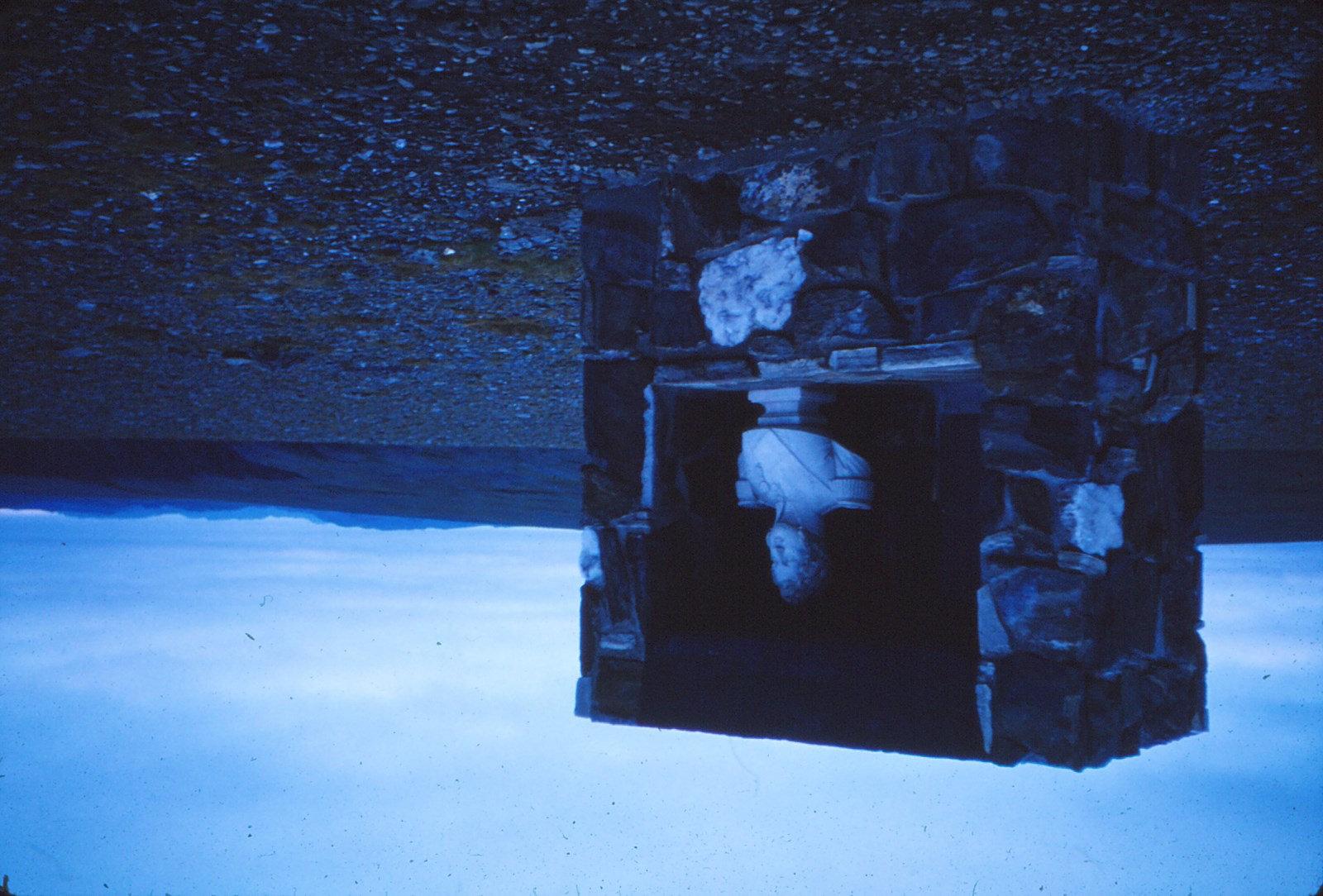 1034 (36) Nordkapp Monument om Louis Philippe