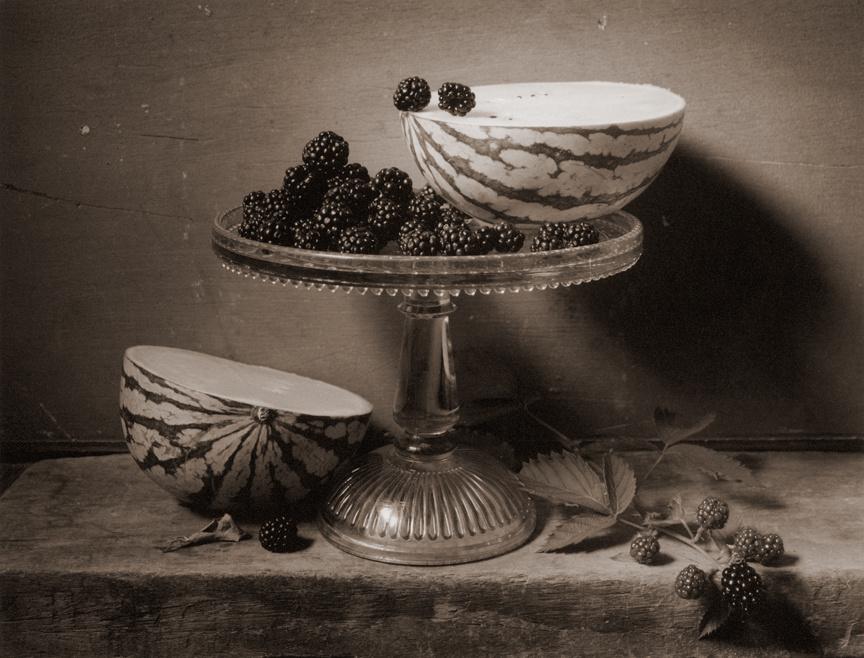 Watermelon & Blackberries, c 2003