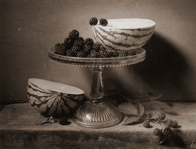 Watermelon & Blackberries, c 2003