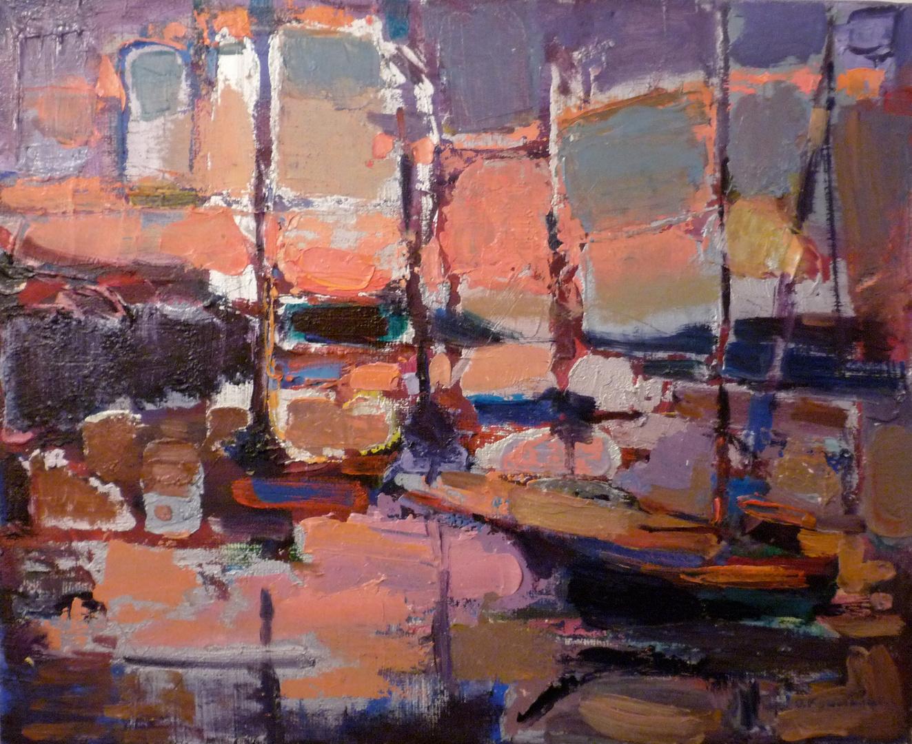 'The marina'