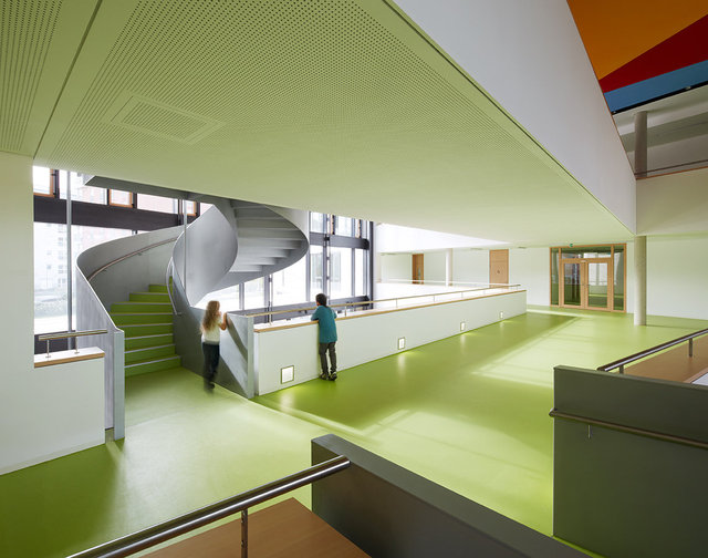 REBSTOCK GRAMMAR SCHOOL FRANKFURT for PFP Architects