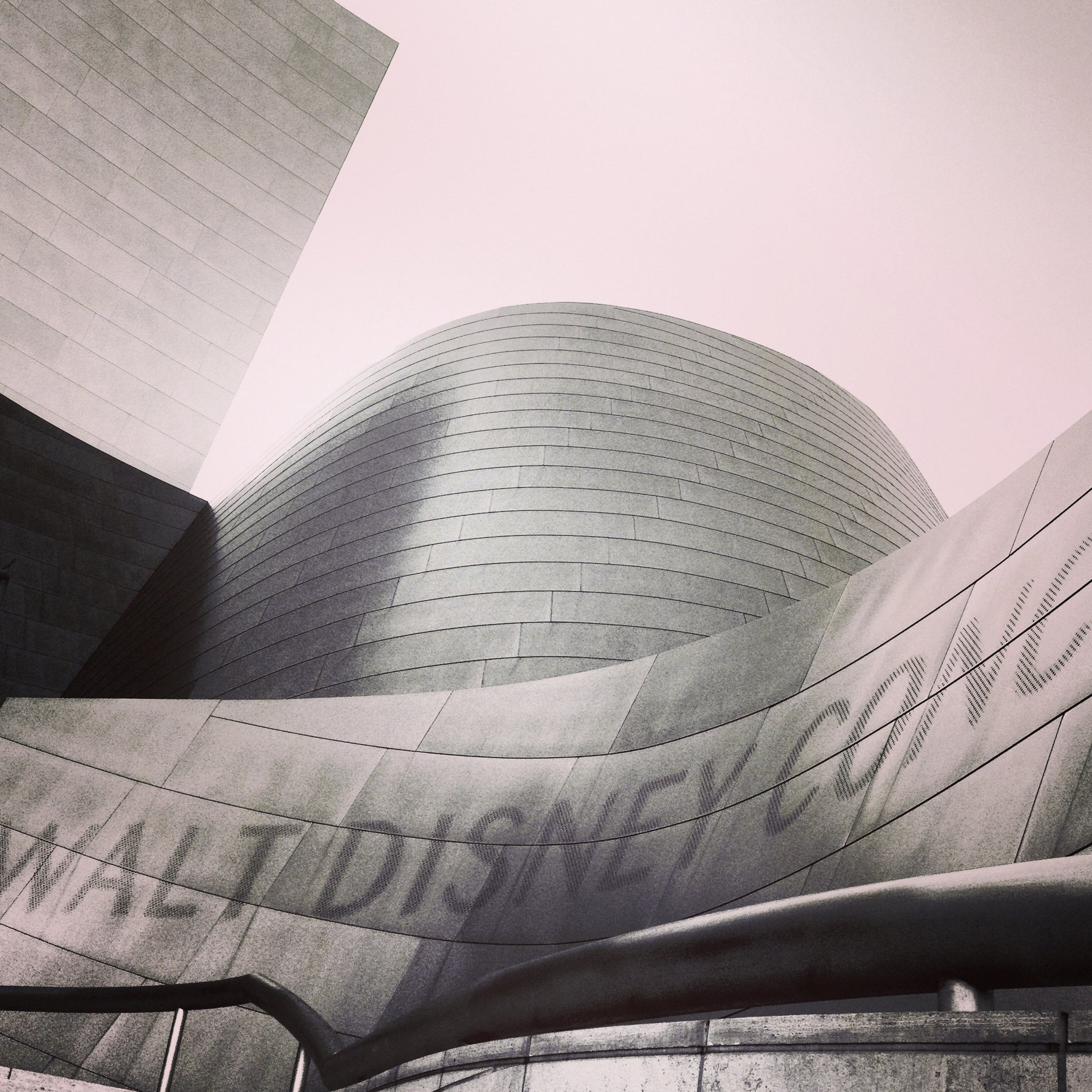 WALT DISNEY CONCERT HALL - B&W 4