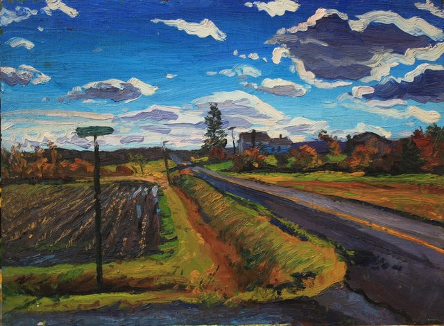 Country Road    18 x 24""