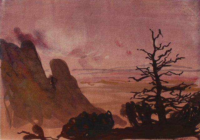 Sandia Mts. Near Albuquerque