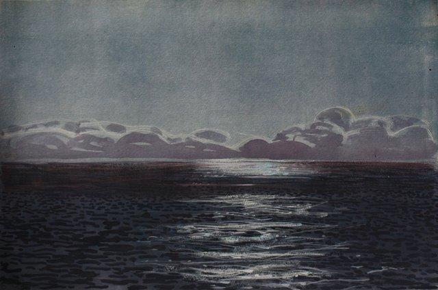 "Ocean Glint- Ireland   10 x 13"""