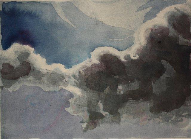 """Clouds   10 x 13"""""""