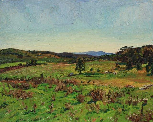 """Lone Tree- Vermont   24 x 30"""""""