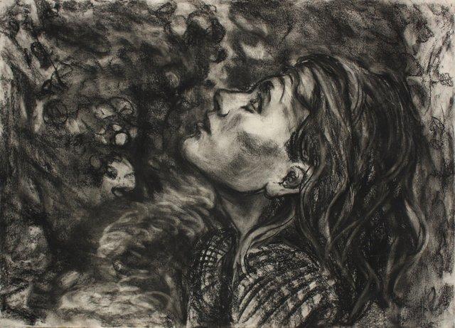 "Sophie Im Wald   20 x 24"""