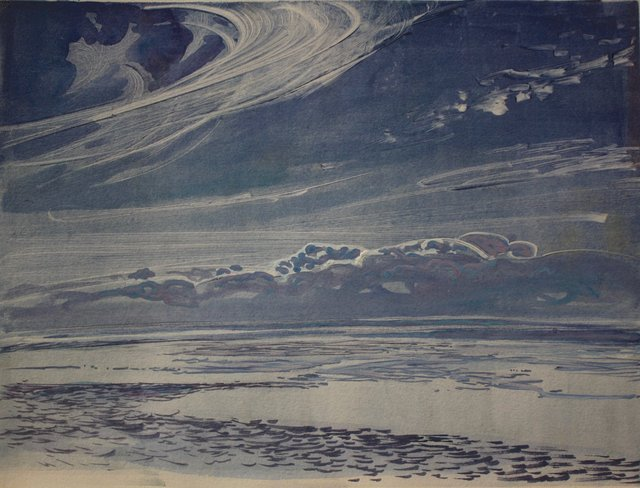 "Calm Ocean- Ireland  10 x 13"""