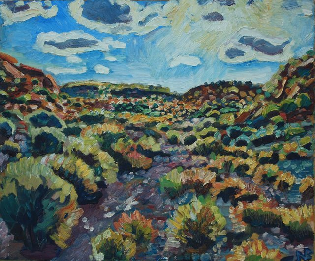 Flagstaff Arroyo Noon    20 x 24""