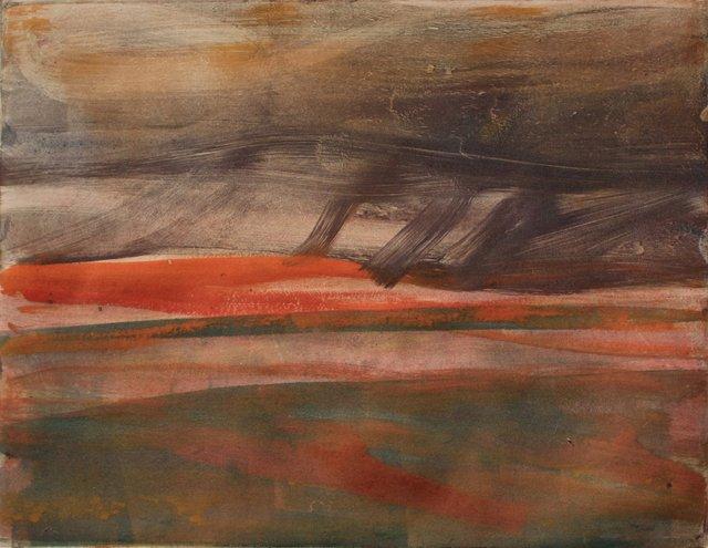 "Desert Rain- New Mexico   10 x 13"""