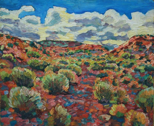 Red Arroyo    20 x 24""