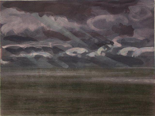 """Midday Ocean- Ireland   10 x 13"""""""