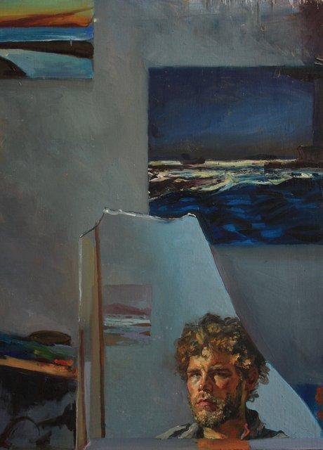 "Self-Portrait      30 x 24"""