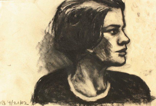 "Sophie Glance    20 x 24"""