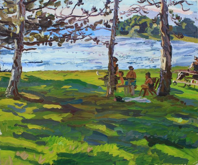 Afternoon Shadows     20 x 24""