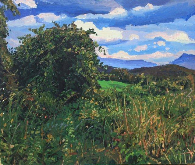 "Vermont Wild Grape     20 x 24"""