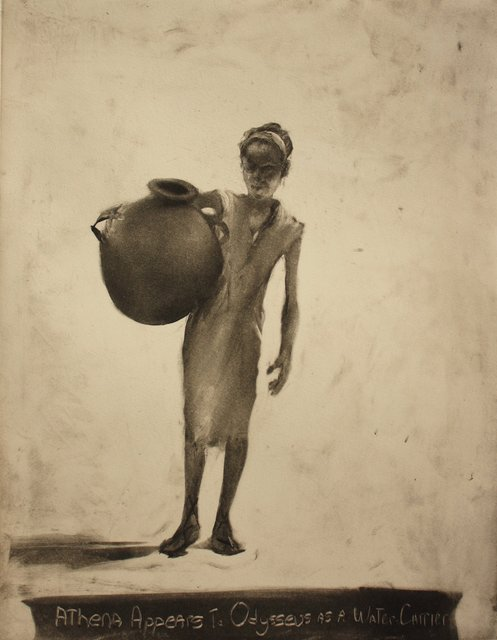 Water Carrier      16 x 12""
