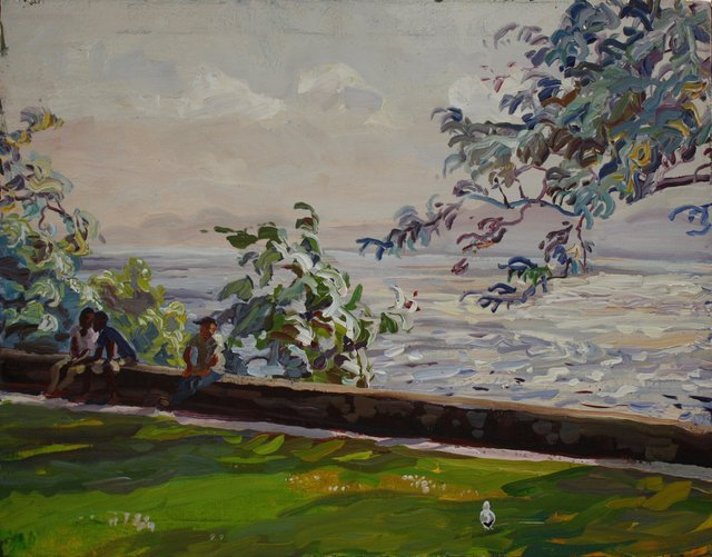 Breezy Summer Day    22 x 28""