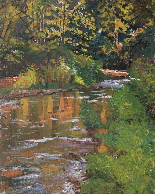 "Ithaca Creek    30 x 24"""