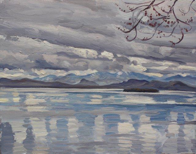 """Lake Champlain    22 x 28"""""""