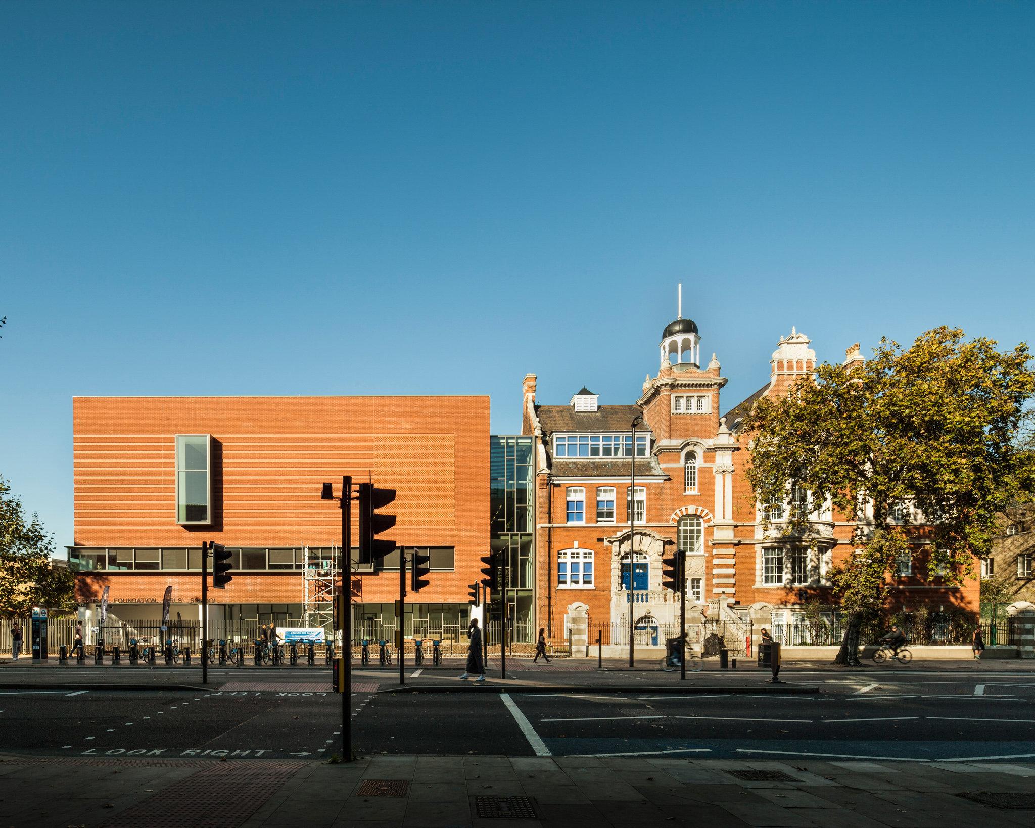 Central Foundation Girls' School. Patel Taylor Architects