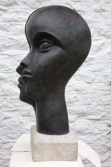 Man and Woman 2  70 x 40 x 38cm  Beatrice Hoffman * 6.jpg