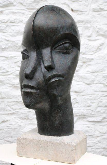 Man and Woman 2  70 x 40 x 38cm  Beatrice Hoffman * 3.jpg