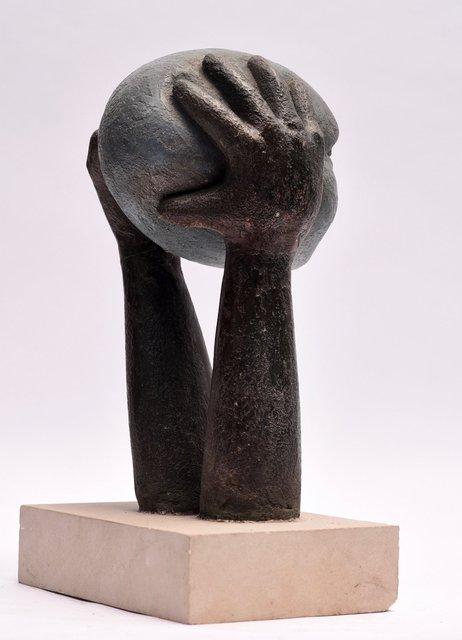 Head on Hands 48 x 20 x 20cm  Beatarice Hoffman 9.jpg