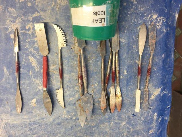 Large Leaf Tools (Tiranti and Amazon)