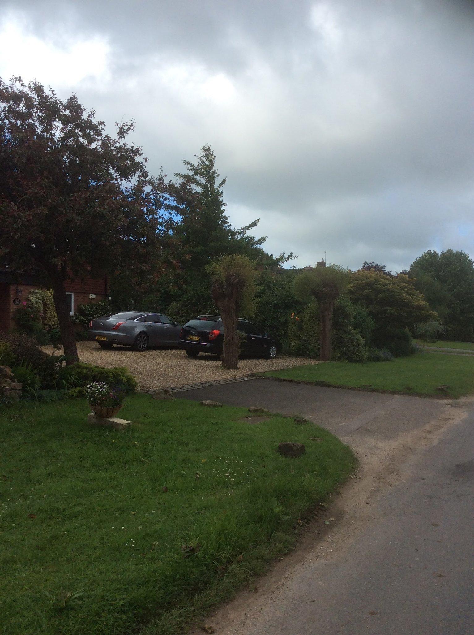 NEVER REVERSE in this Drive way of the next door neighbour