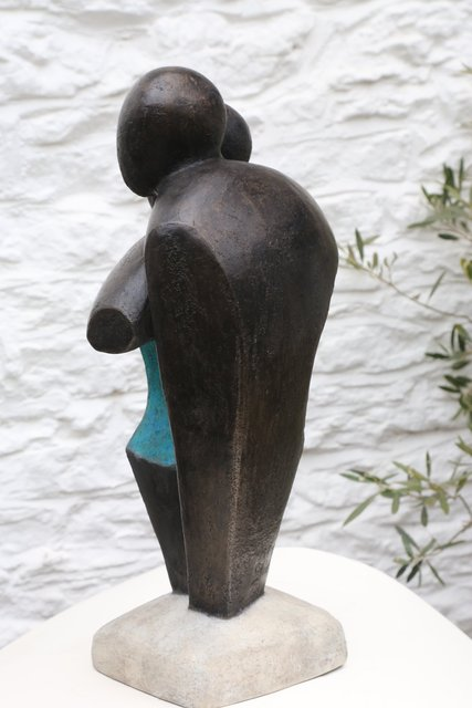 Standing Together  2018   §§9 X 33 X 18cm  Bronze Resin  RP: £1950