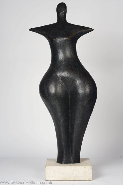 First Woman, 1991, 87 x 32 x 26cm Bronze Resin   RP £ £2950