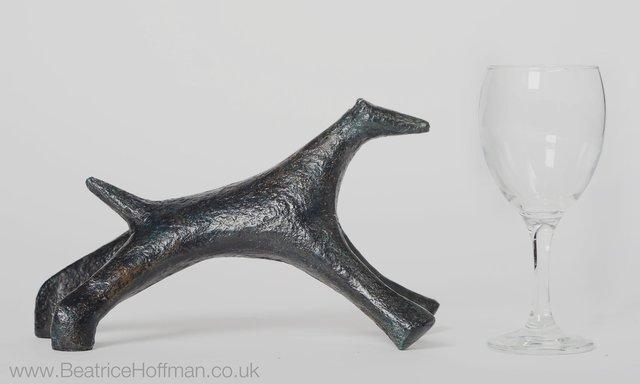 Running Creature  1995 18 x 30 x 10cm Bronze resin  RP £780