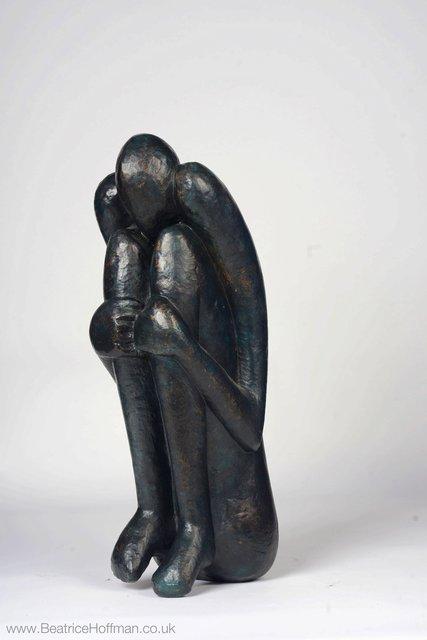 Self Protecting   1990  63 x 20 x 27cm Bronze Resin  RP  £1950
